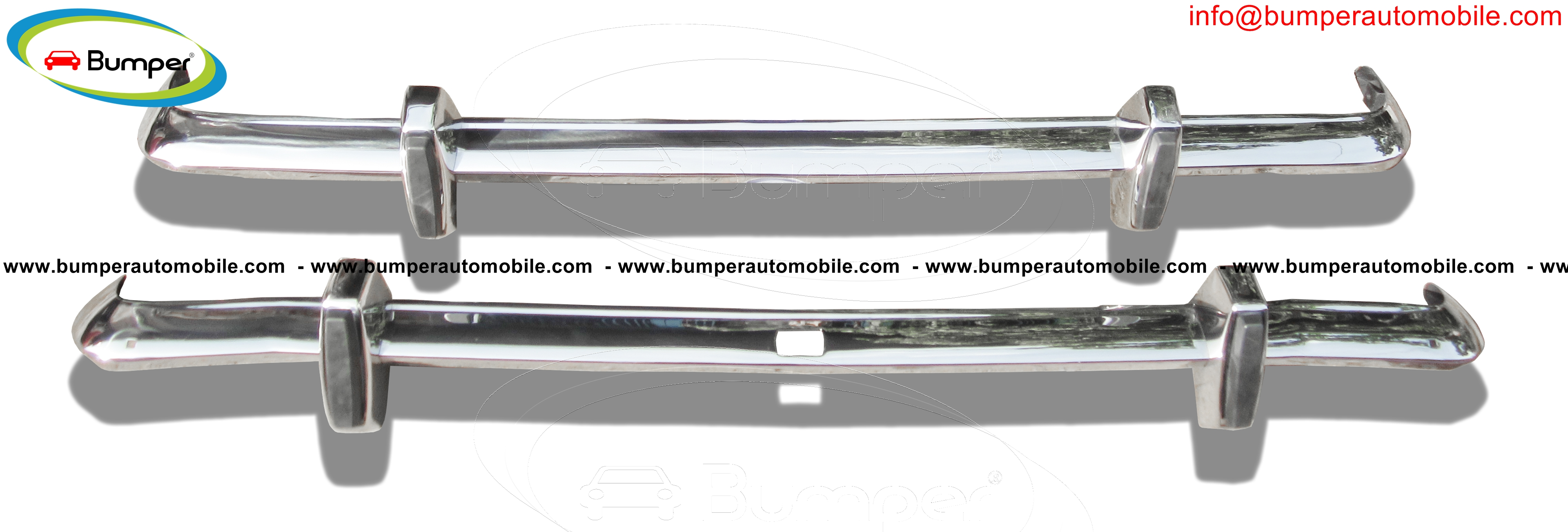 Ford Cortina MK2 year (1966-1970) bumpers