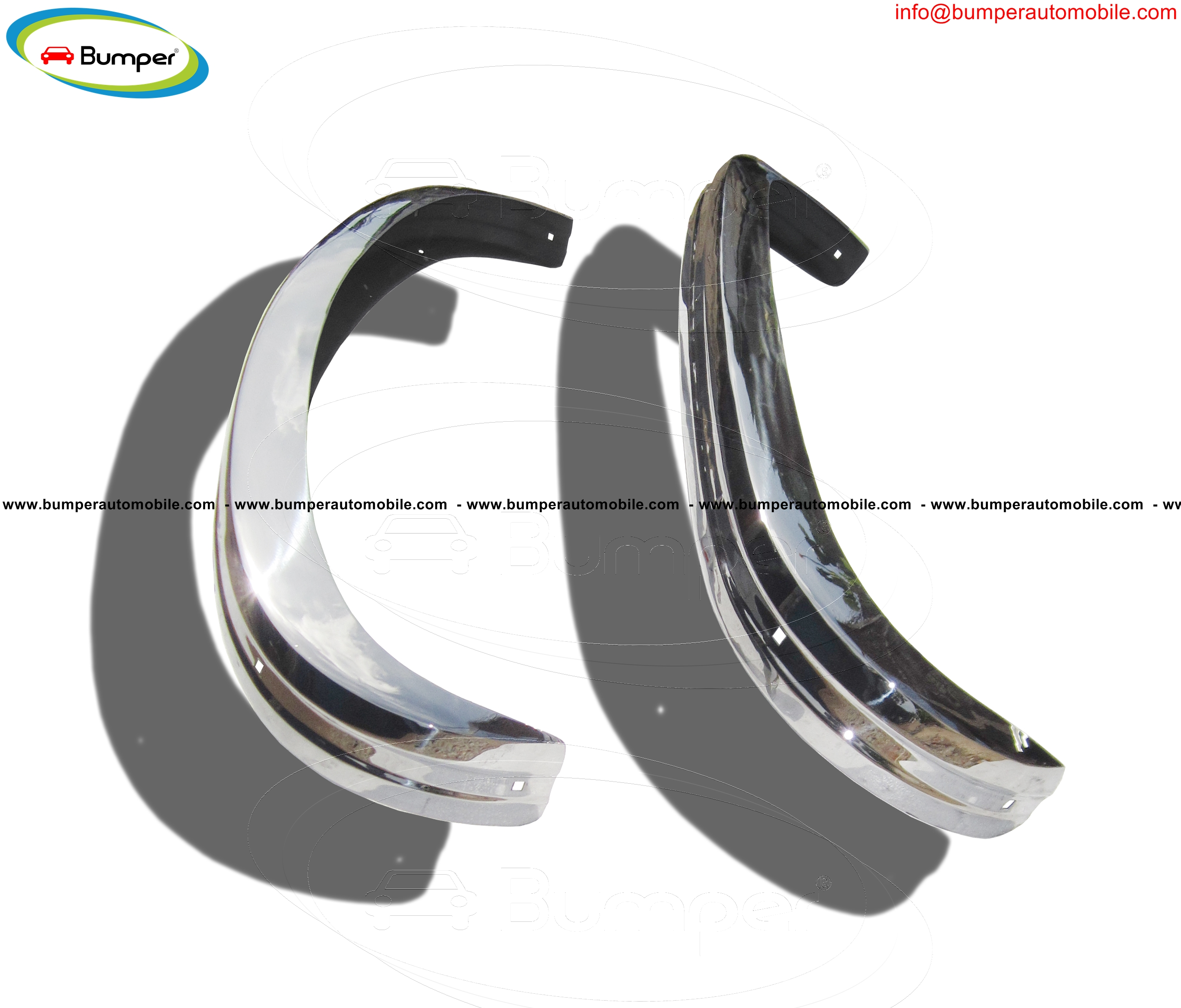 Full set bumper type Volkswagen Type 3 (1970-1973)