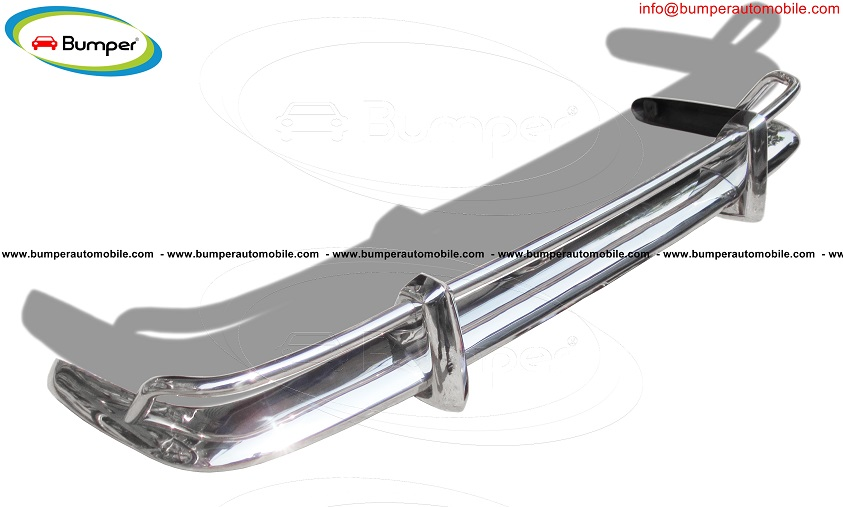 Stainless steel rear bumper Volkswagen Karmann Ghia USA (1955 -1966)