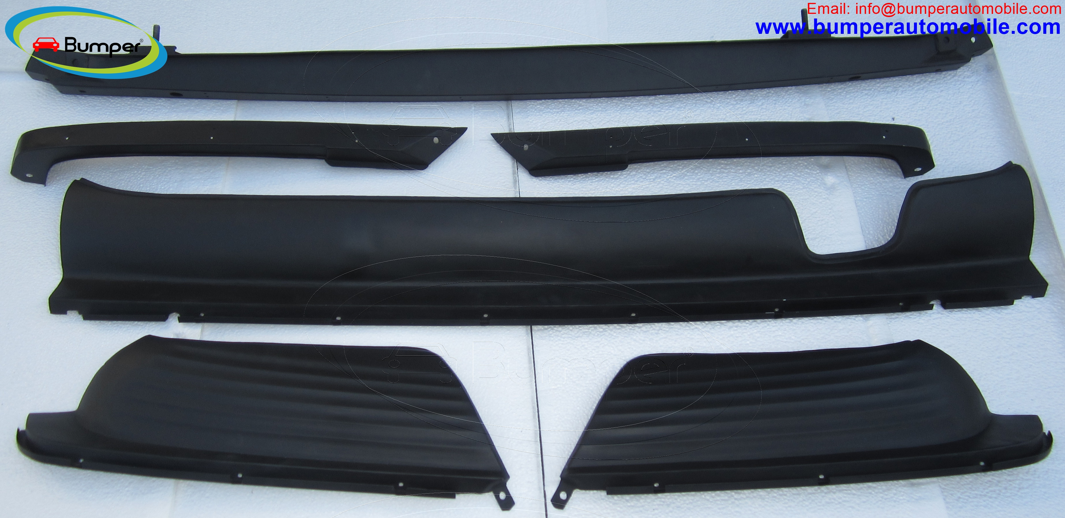 Steel Rear bumper Mercedes W107
