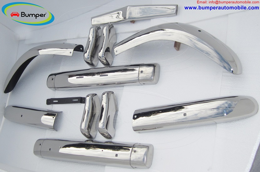 Full set bumpers Volvo PV 444 (1947-1958)