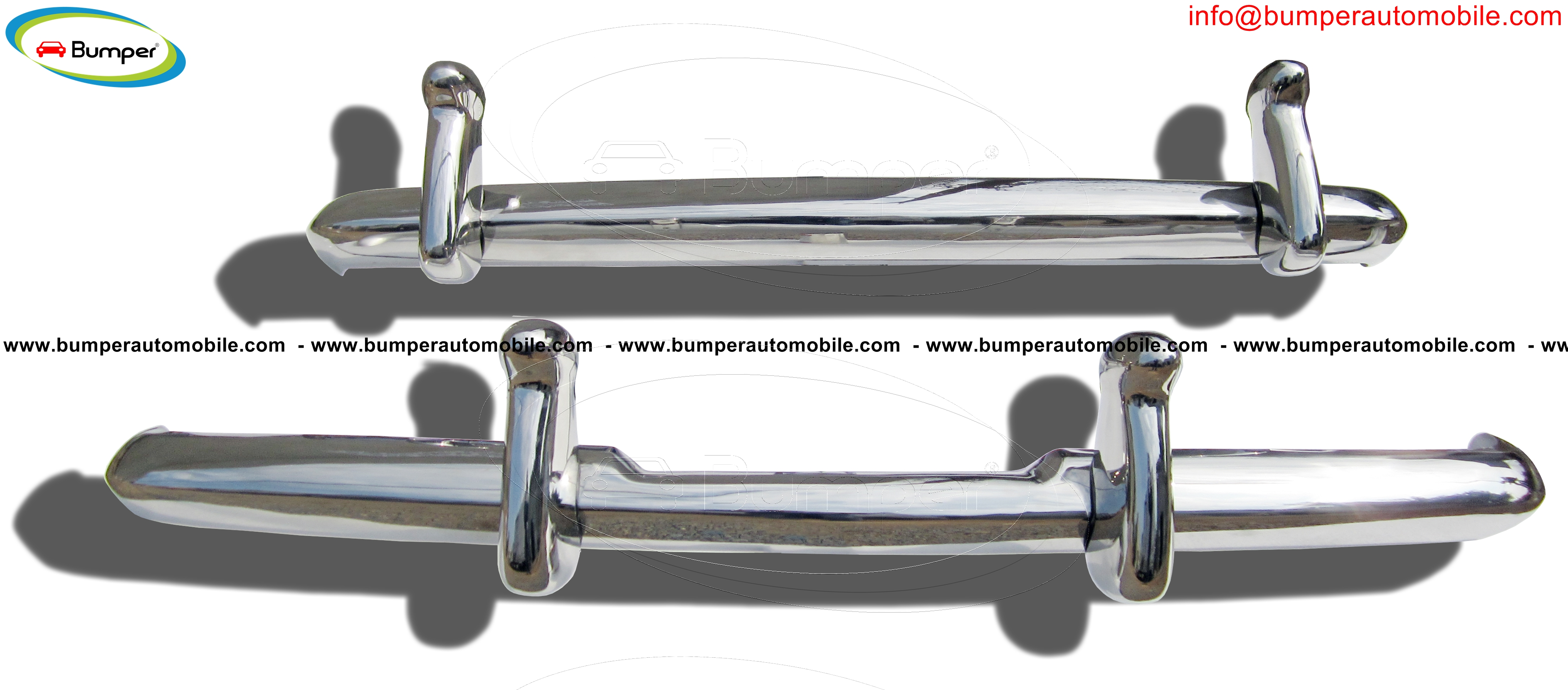 Full set Bentley S1, S2 and Rolls-royce Silver Cloud S1 S2 bumper stainless steel