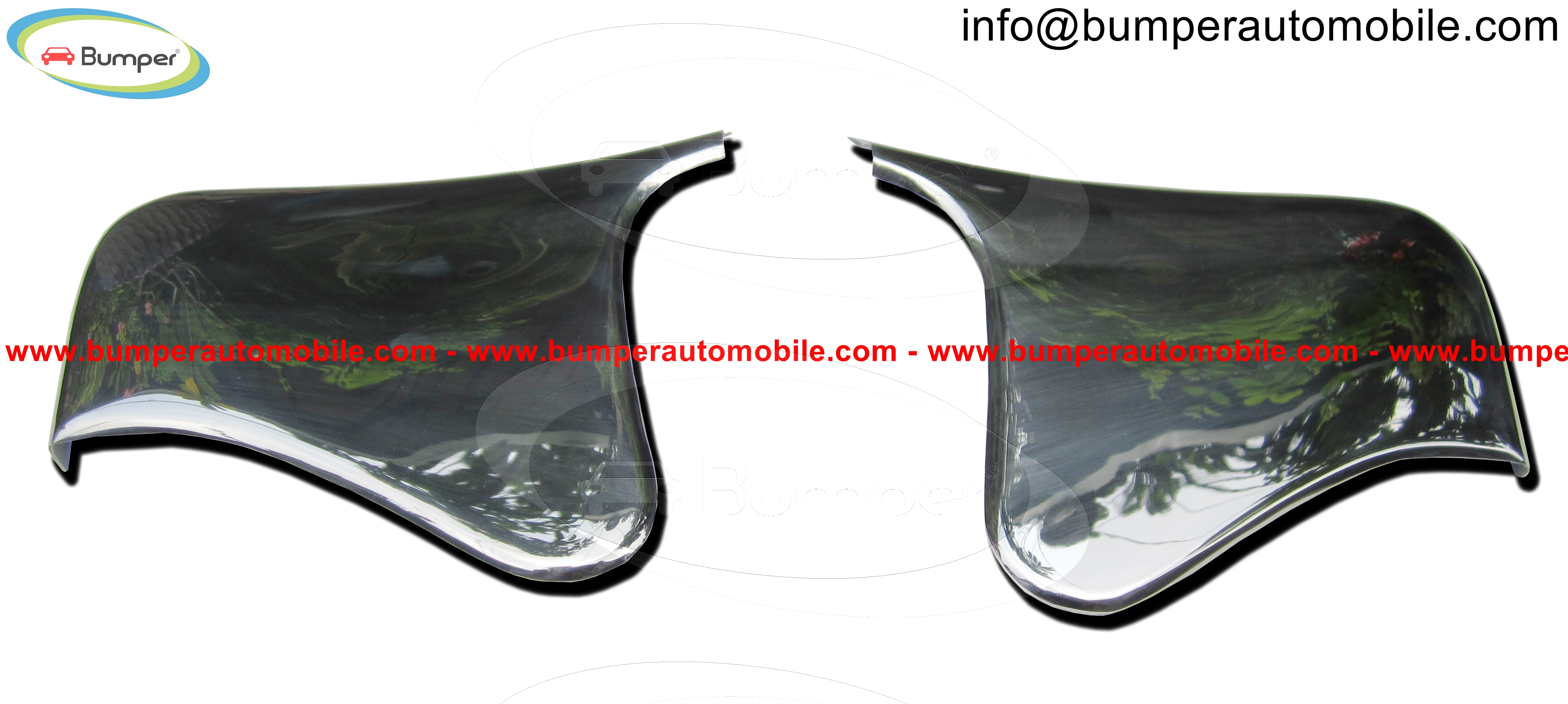 Mercedes 190SL Roadster stone guards (1955-1963)