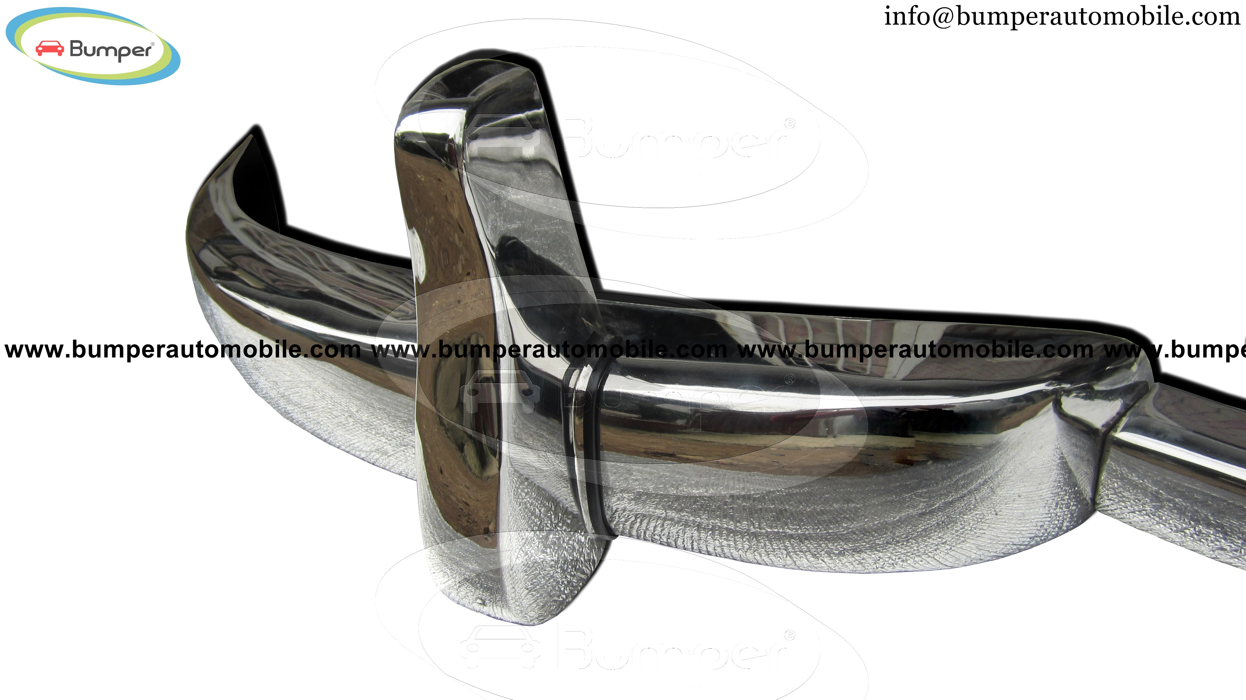 Font bumper Mercedes W186 300, 300b and 300c year (1951-1957)
