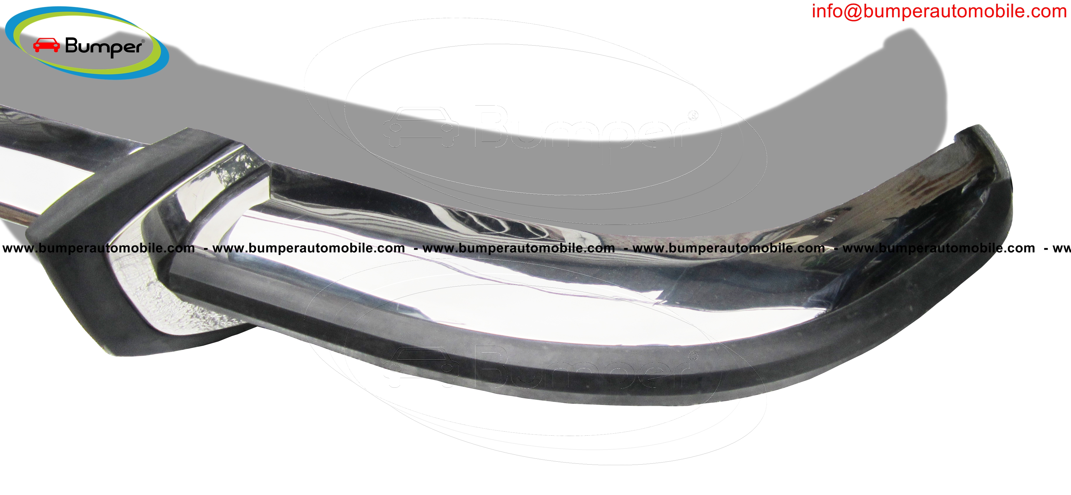 Stainless steel front bumper BMW 2000 Sedan (1965-1969)