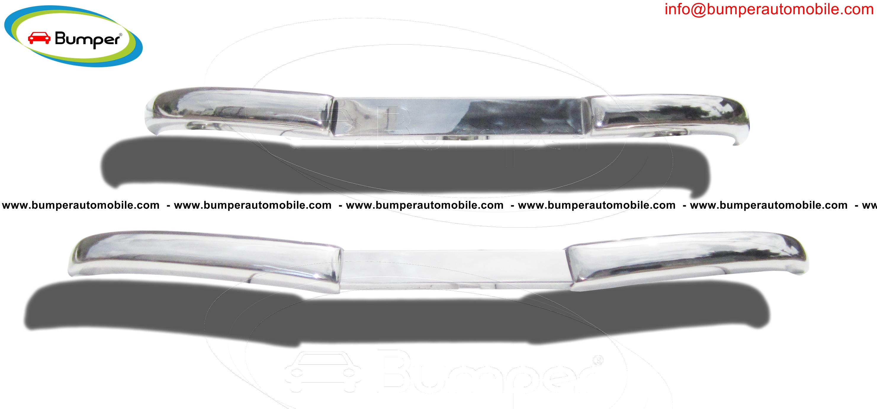 Mercedes  W136 170Vb (1952 – 1953) bumpers