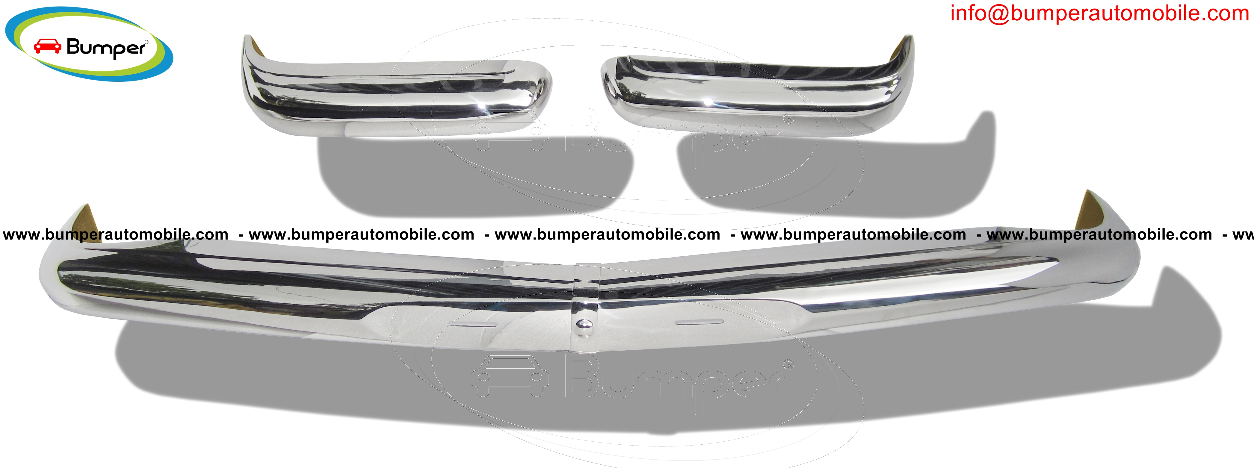 Mercedes Pagode W113 (1963 -1971) bumpers