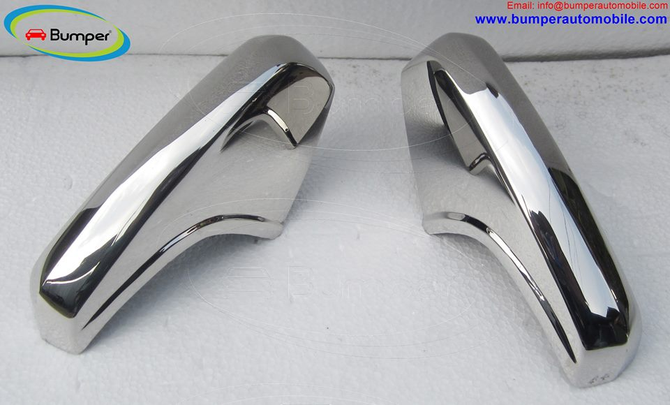 Over riders Mercedes W120 W121 bumpers ( 1959 - 9162 ) stainless steel