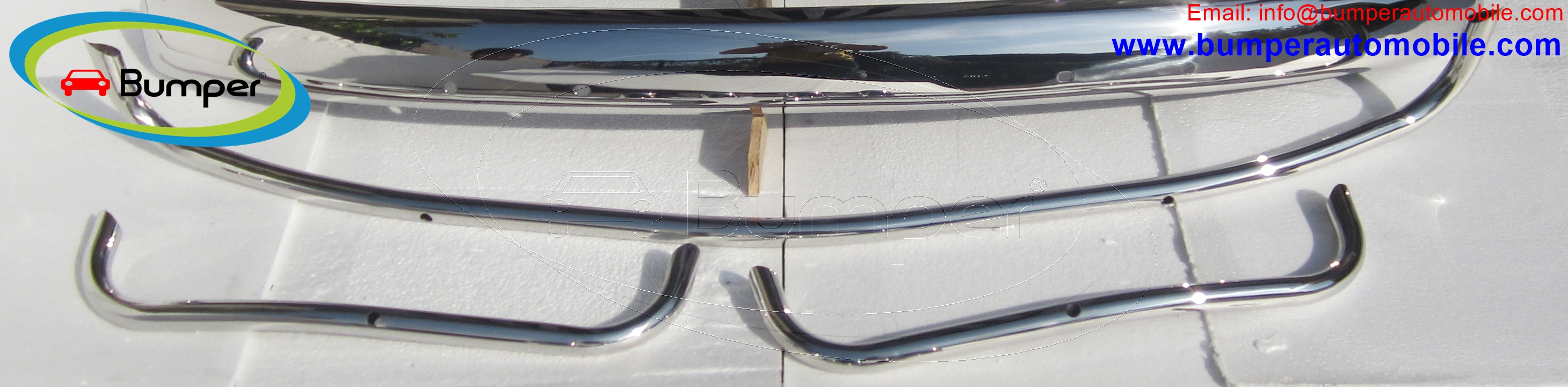 towel rails of VW beetle US