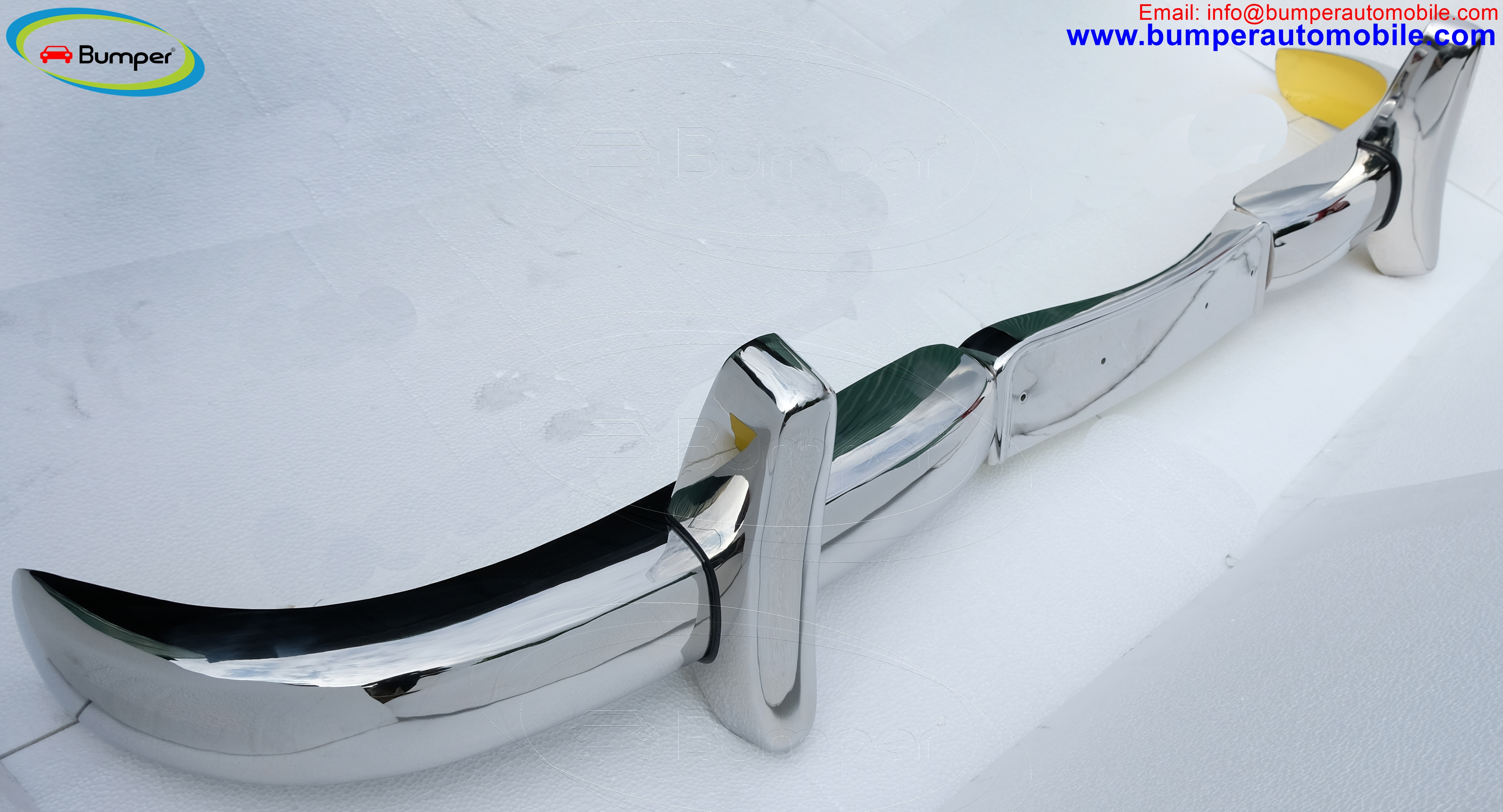 Front bumper for Mercedes 220S coupe 1